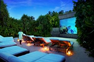 Maledives Six Senses Laamu - Jungle Cinema