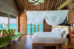 Maledives Six Senses Laamu - Laamu Water Villa Interior