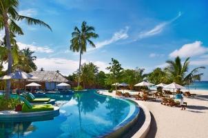 Maledives Six Senses Laamu - Swimming Pool