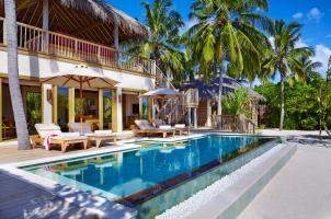Maledives Six Senses Laamu - Two bedroom Ocean Beach Villa with Pool