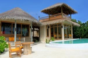 Maledives Six Senses Laamu - Two bedroom Lagoon Beach Villa with Pool