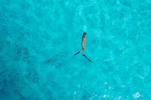 Maledives Soneva Aqua - Aqua Free Diving