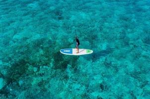 Maledives Soneva Aqua - Aqua Paddleboarding