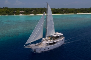 Maledives Soneva Aqua - Aerial