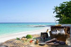 Maledives Soneva Fushi - Picnic