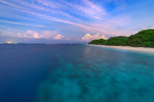 Maledives Soneva Fushi - Island View