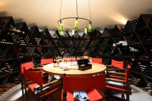 Maledives Soneva Fushi - Wine Cellar