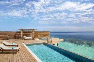 Waldorf Astoria - Three Bedroom Overwater Villa