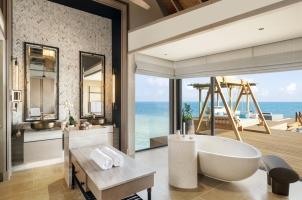 Waldorf Astoria - Three Bedroom Overwater and Reef Villa