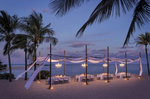 Shangri La's Le Touessrok - Gala Dinner in the evening