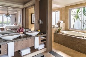 Shangri La's Le Touessrok - La Suite Bathroom
