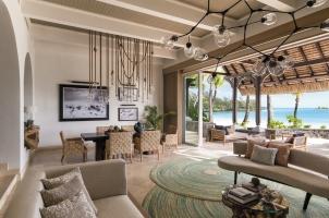 Shangri La's Le Touessrok - La Suite Living Area