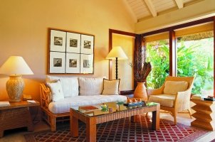 Mauritius The Oberoi Beach Resort - Luxury Pavilion Living Area