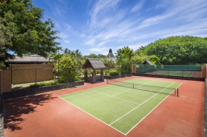 Mauritius The Oberoi Beach Resort - Tennis Court