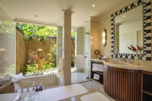 Mauritius The Oberoi Beach Resort - Villa Bathroom