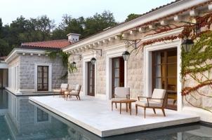 Montenegro - Aman Sveti Stefan - Spa Relaxation Terrace