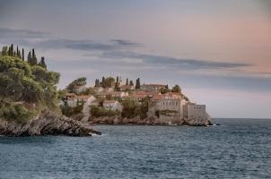 Montenegro - Aman Sveti Stefan - Isand View