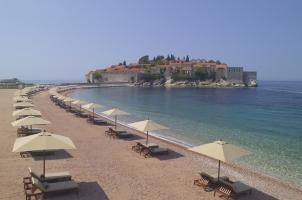 Montenegro - Aman Sveti Stefan - Islet beach