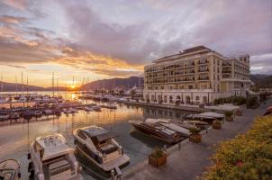 Regent Porto Montenegro - Marina Sunset