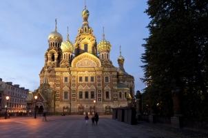 Russia - Rocco Forte Hotel Astoria - Church of the Savior on blood