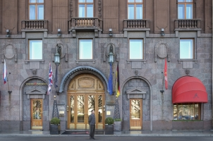 Russia - Rocco Forte Hotel Astoria - Entrance