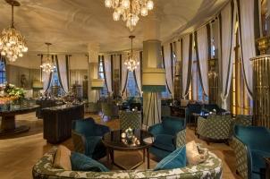 Russia - Rocco Forte Hotel Astoria - Rotounda Lounge