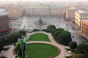 Russia - Rocco Forte Hotel Astoria - View from St. Isaac Cathedral
