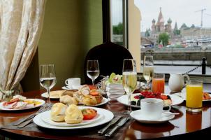 Russia - Baltschug Kempinski Moscow - breakfast