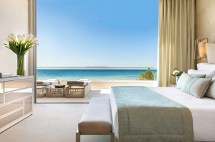 Sani Dunes - Bedroom Beachfront
