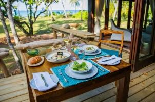 Seychelles North Islands - Villa Dining