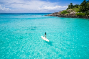 Seychelles North Islands - StandUp Paddle Boarding