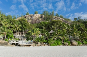 Seychelles North Islands - View from the Beach