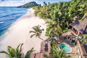 Seychelles North Islands - Expansive Deck