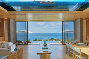 Six Senses Zil Pasyon Seychelles - Bedroom and Dining Room