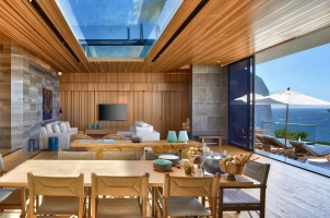 Six Senses Zil Pasyon Seychelles - Living Room