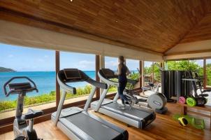 Six Senses Zil Pasyon Seychelles - The Gym