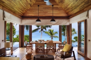 Six Senses Zil Pasyon Seychelles - Two Bedroom Pool Villa Living Room