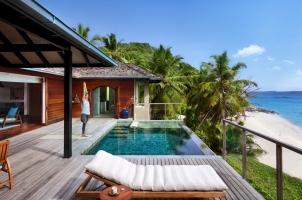 Six Senses Zil Pasyon Seychelles - Yoga in Pasyon Pool Villa