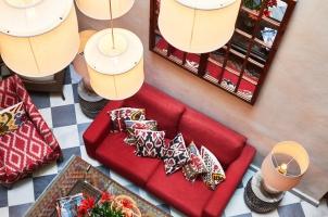 Corral del Rey - Living room patio