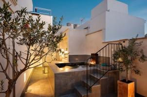 Corral del Rey - Pool Suite terrace plunge pool