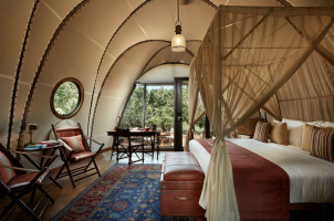 Wild Coast Tented Lodge - Cocoon Bedroom