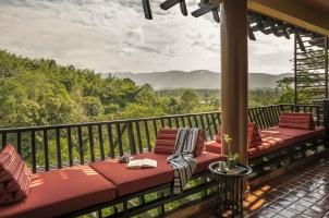 Anantara Golden Triangle -Balcony