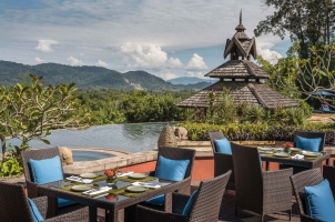 Anantara Golden Triangle - Poolside Dining