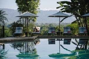 Anantara Golden Triangle - Pool Lounge
