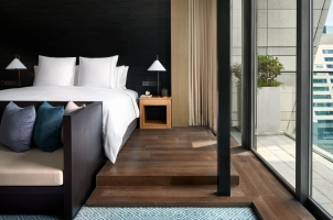 Thailand - Rosewood Bangkok  - Bedroom