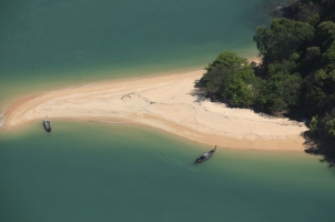 Six Senses Yao Noi - aerial view of phang ngan bay