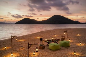 Six Senses Yao Noi - island sunset bbq