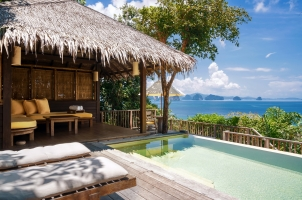 Six Senses Yao Noi - ocean pool villa