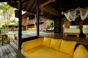 Six Senses Yao Noi - two bedroom pool villa