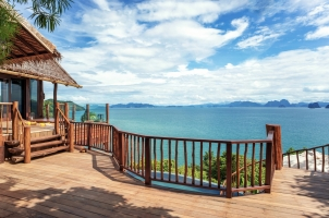 Six Senses Yao Noi - upper deck
